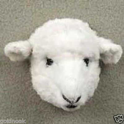 One Furry White Sheep Animal Magnet! Gift Box Included. Holiday Gifts?