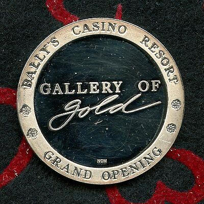 1986 Bally's (Limited/200 Total) .999% Casino Silver Strike