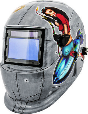 Shop Iron Mechanic Pin Up Girls Auto Dark Welding Helmet (41288)