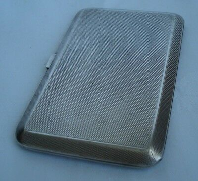 Antique Sterling Silver Cigarette Case by Adie Brothers - 1927 Birmingham 192 gr
