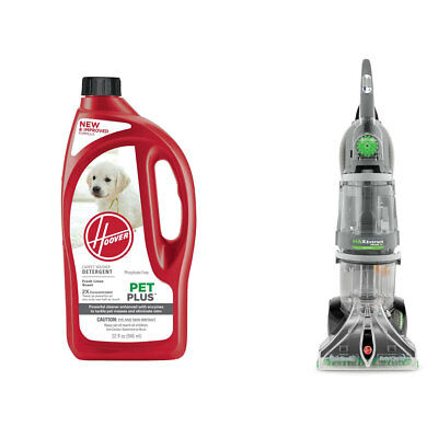 Hoover Max Extract Dual V Carpet Washer & Pet Plus 2X Carpet Cleaning Fluid
