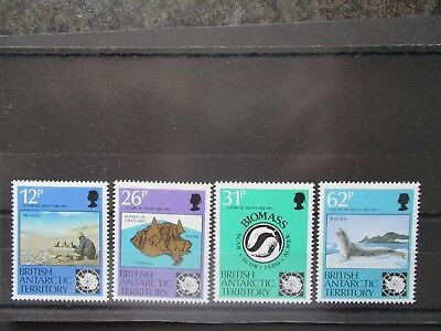 British Antarctic Territory 30th Anniv of Antarctic Treaty Set. MNH.