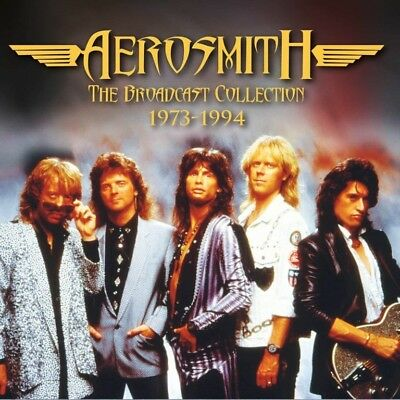 Aerosmith Live The Broadcast Collection 1973- 1984 15 CD Box set           ...