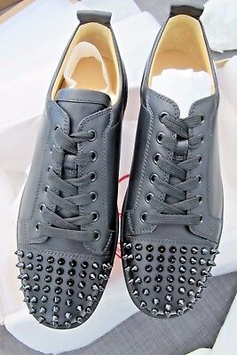 938a6bbb8816 Christian Louboutin Mens Louis junior spike sneaker-43-100% Authentic and  New
