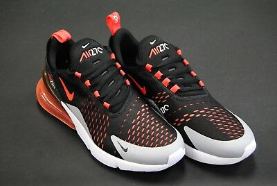 AH8050 015  NEW Men s Nike Air Max 270 Black Bright Crimson Le1089 ... 3dcb58a64710