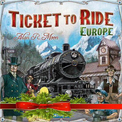 TICKET TO RIDE Europe Edition Family Board Game Great Gift Idea Brand New