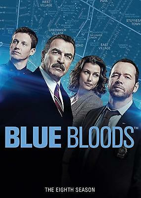 Blue Bloods The Complete Eighth Season 8 8th DVD FULL SET -FREE 2-3 EXP SHIPPING