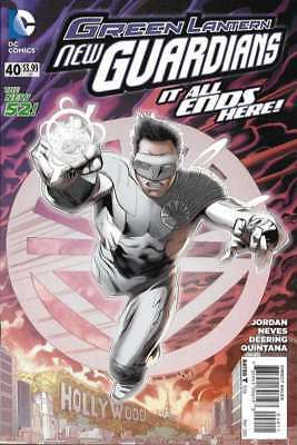 Green Lantern: New Guardians #40 in Near Mint + condition. DC comics
