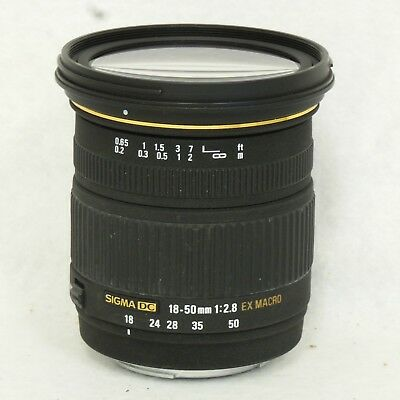 Sigma Lens 18-50mm f/2.8 DC EX Macro for Sony 580205 FREE SHIPPING