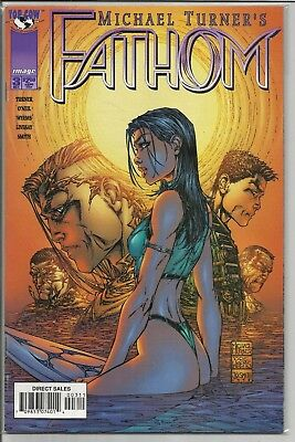 Fathom #3 (Oct 1998, Image) Never Read Sealed From New