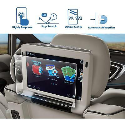 2P Rear Seat TV Glass Screen Protector For 2018 Chrysler Pacifica 10In Back Seat