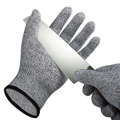 L Cut Resistant Glove Anti-Cutting Food Grade Level 5 Kitchen Butcher Protection