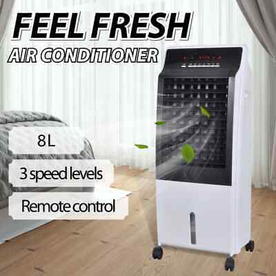 vidaXL Evaporative Air Cooler Portable Fan Conditioner Cooling Humidifier 8 L