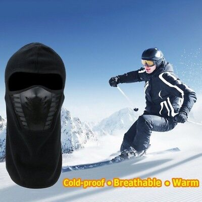 Winter Cold Weather Windproof Fleece Neck Warmer Balaclava Ski Full Face Mask AU