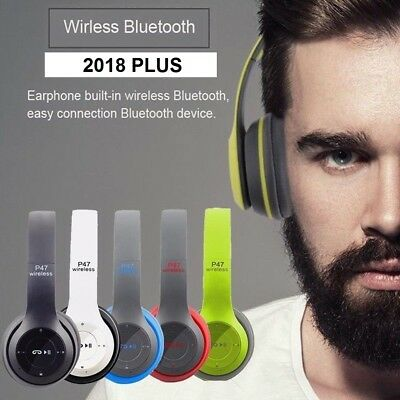 CUFFIE BLUETOOTH 4.1 WIRELESS / JACK 3,5 MM per HUAWEI SAMSUNG APPLE TV TABLET