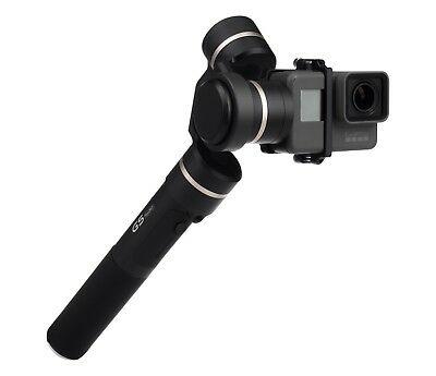 Gimbal for GoPro HERO 4 and 5 YouTube Vlogging made easy with Feiyu Tech G5 new