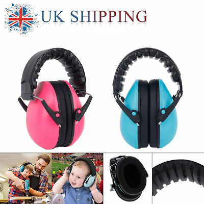 Kids Child Baby Ear Muff Defender Noise Reduction Comfort Festival Protection UK