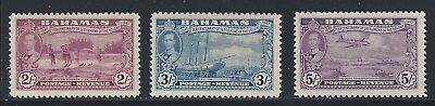 Bahamas      .sc 143-146      Sg 189-192      Mint Very Light Hinge