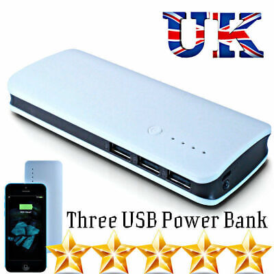 300000Mah Usb Power Bank Portable Charger For Samsung Lg Oneplus Iphone Ipad Uk