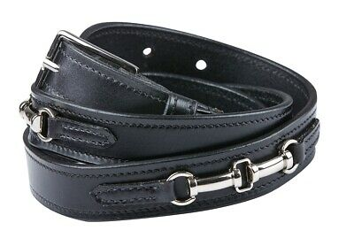 Dublin Duel Bit Belt 100% Leather Womens Horse Riding Accesories Apparel
