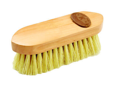 Kincade Wooden Deluxe Dandy Brush Natural Small