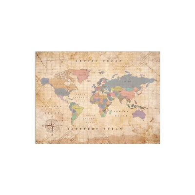 MISS WOOD WELTKARTE Woody Map Watercolor Old School XL - EUR 49,90 ...