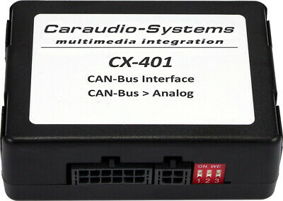 CAN Bus Interface zum wandeln von Zündung, Licht, Speed usw. in Analoge Signale
