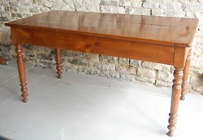 French 19th Century Cherrywood Farmhouse Table