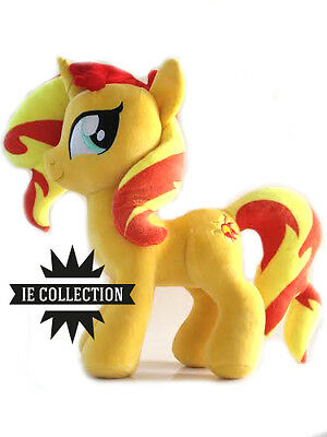 MY LITTLE PONY SUNSET SHIMMER PELUCHE 32 CM PUPAZZO plush doll Equestria Girls
