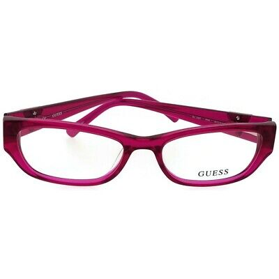 4f2ed64d5b2 Guess GU2387-PNK-51 Women s Pink Frame With Clear Lens Genuine Eyeglasses  NWT