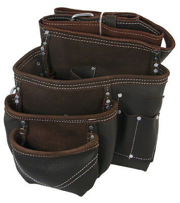 PTI Oil Tan Leather Premium Single Pouch Pocket with Belt