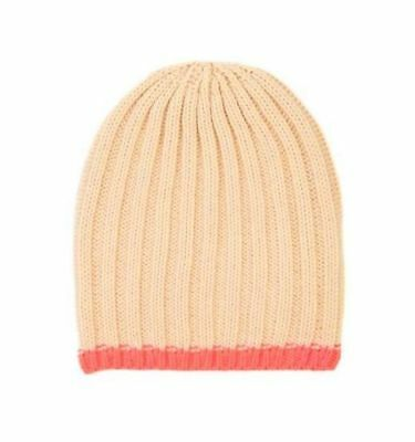 Cotton On Kids Toddlers Girl Accessories Peach Colour Beanie One Size Brand New