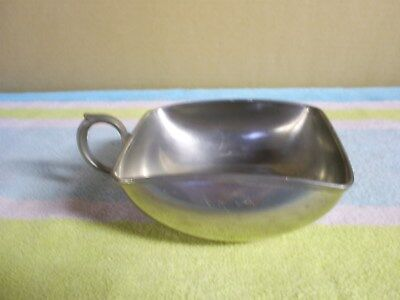 Vintage Royal Holland Daalderop Pewter Bowl With Handel - Kmd