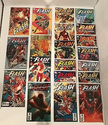 Lot Of 21 Flash Rebirth (2009) #1-6 + Fastest Man Alive #1-13 Complete Sets +