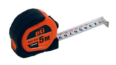 5 Metre x 19mm Wide Metric Only Pocket Measuring Tape Measure 5M