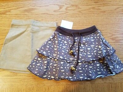 Girls Clothes ~ Lot of 2 Skirts Size 2T New with Tags