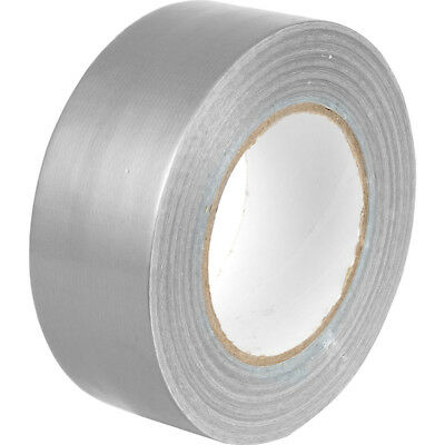 Silver Gaffa Gaffer Duck Duct Cloth Tape 50m x 48mm Strong Waterproof