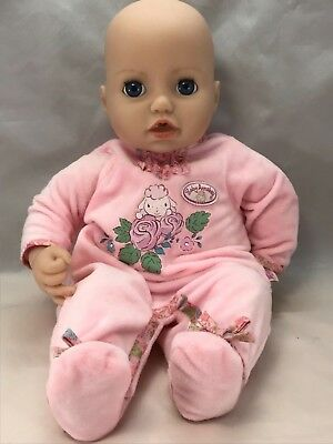 "Zapf 17"" Baby Annabell Interactive Doll (Y)"