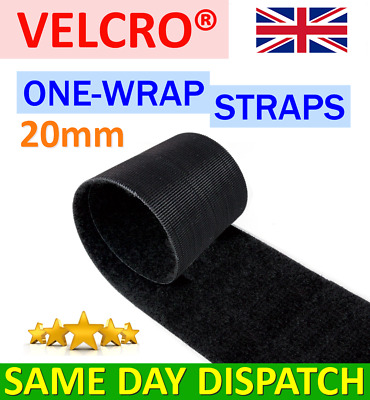 VELCRO® Brand ONE-WRAP 20mm Double Sided Hook & Loop Straps