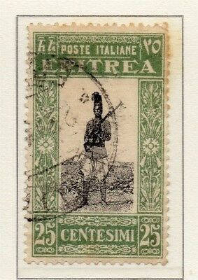 Eritrea 1930 Early Issue Fine Used 25c. 188056