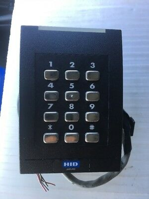 HID PIV Class RKCL40 Wall Switch Reader with Keypad RKCL40EKNN 923NPRNEK00333