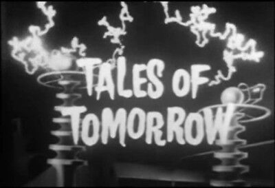 Tales Of Tomorrow Vintage 1951 to 1953 Science Fiction Series 36 Episodes 4 DVDs