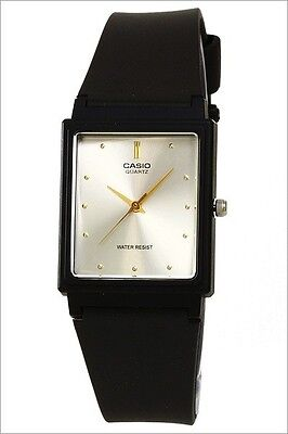 Casio MQ38-7A Mens Silver Dial Classic Resin Casual Watch New Warranty