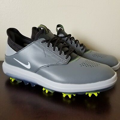 2e080a920205 Nike Air Zoom Direct Mens Size 8 Golf Shoes Grey Black 923965-002 Brand New