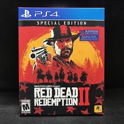 Red Dead Redemption II (2) Special Edition (PS4/PlayStation 4) BRAND NEW