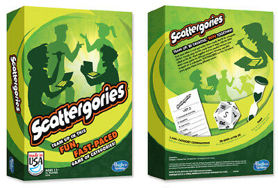 NEW Sealed Scattergories Classic Family Trivia Board Game Green Box