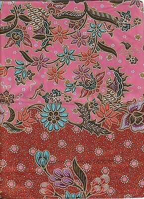 Thai Patong - Sarong with Batik Design Two Meters Long                     TP002