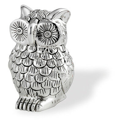 FAVOURS OWL or owl CM.9H COATING in galvanic 925 SILVER% PURE 9253