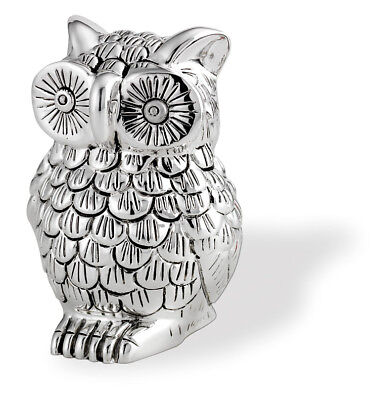 FAVOURS OWL or owl CM.7H COATING in galvanic 925 SILVER% PURE 9252
