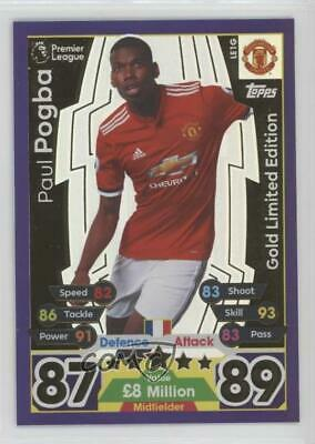 Topps Match Attax 17 18 Premier League Limiteds and 100 clubs luiz and hernandez